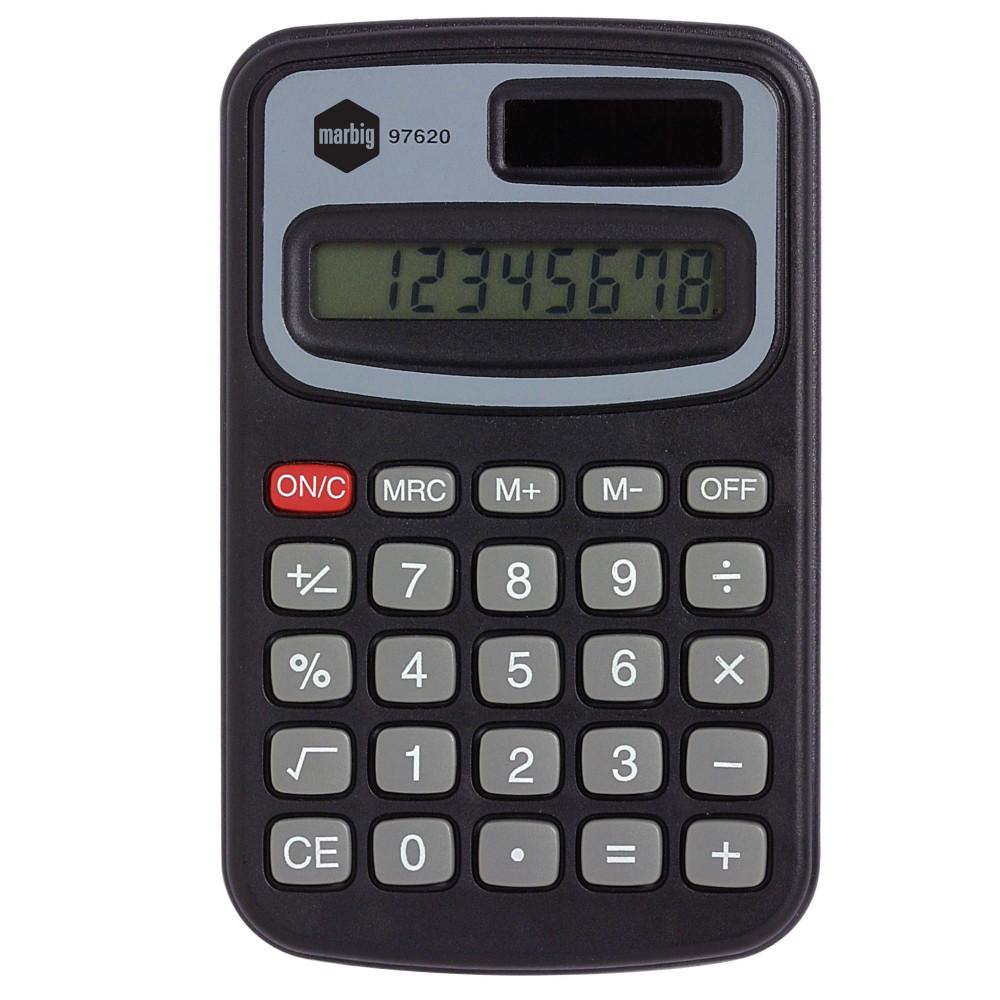 Marbig Pocket Calculator 8 Digit