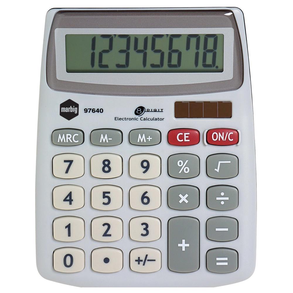 Marbig Desktop Calculator 8 Digit