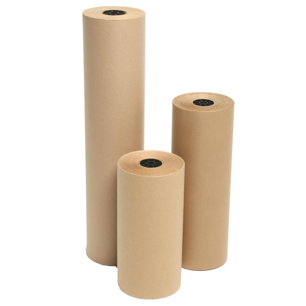Marbig Kraft Paper Roll 750mmx340m 65gsm