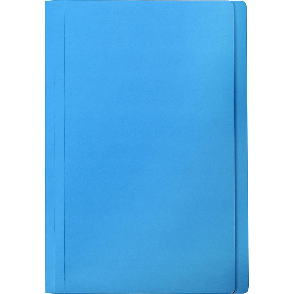 Marbig Manilla Folders Foolscap Blue Box of 100
