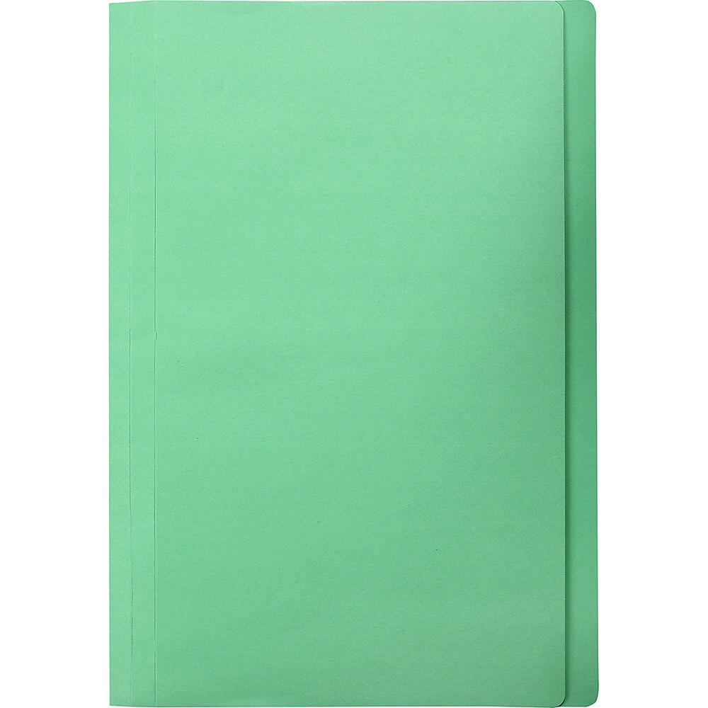 Marbig Manilla Folders Foolscap Green Box Of 100