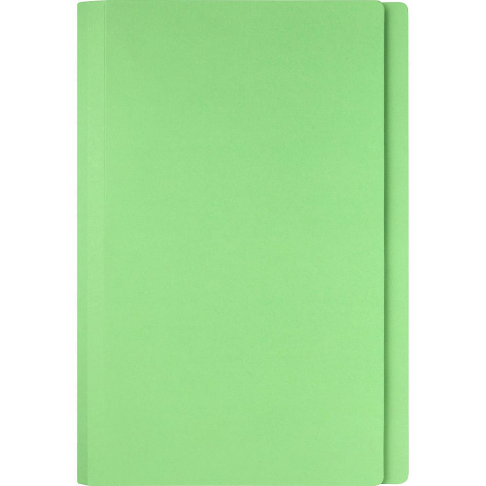 Marbig Manilla Folders Foolscap Light Green Box Of 100