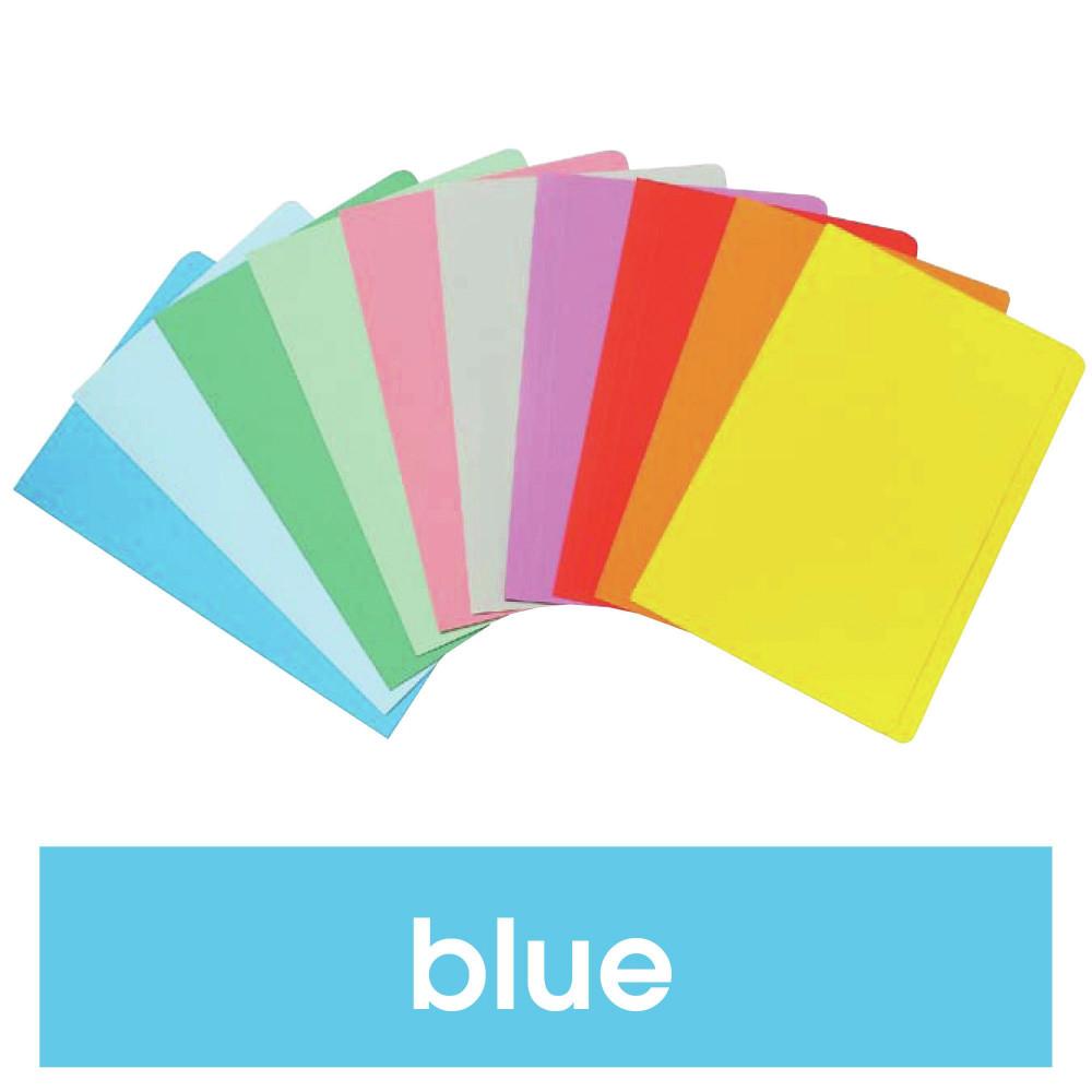 Marbig Manilla Folders Foolscap Blue Pack Of 20