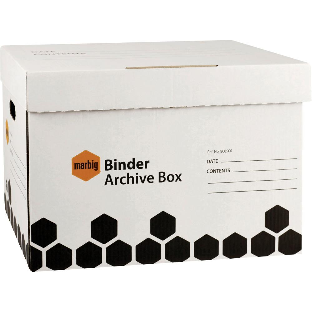 Marbig Archive Box Binder L460mm x H330mm X W320Mm