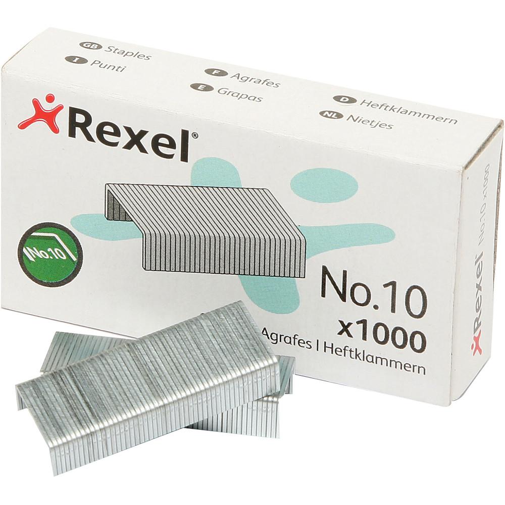 Rexel No.10 Staples Mini Box Of 1000