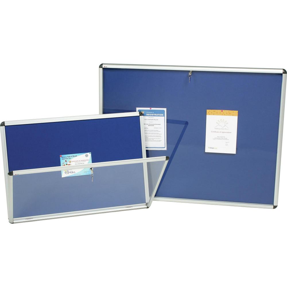 Nobo Internal Fabric Noticeboard A0  1265x965mm Blue