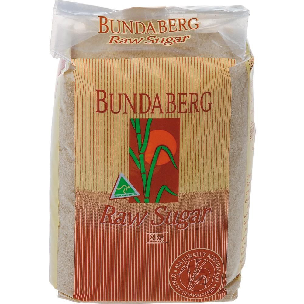 Bundaberg Raw Sugar 2kg Pack