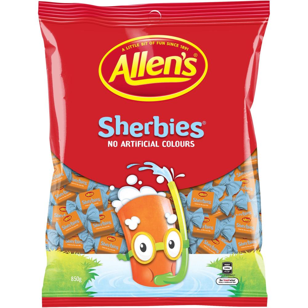 ALLEN'S SHERBIES 850GM PACK Sherbies