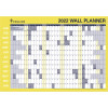 Collins Wall Planner 686x990mm Double Sided Roll Up