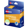Avery Dispenser Label 24mm 1/2 Green Dot Pack of 300