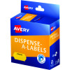 Avery Dispenser Label 26x16mm Price Yellow Pack of 300