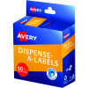 Avery Dispenser Label 24mm 50% Off Marked Red Pack of 300