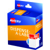 Avery Dispenser Label 60x40mm Sale Was/Now Red Pack of 300