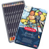 Derwent R32196 Studio 12 Pencils Assorted Tin Pack Of 12