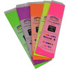 Rainbow Fluro Crepe Paper 500mmx2.5m Assorted Pack of 5