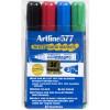 ARTLINE 577 WHITEBOARD MARKERS Drysafe Med Bullet Wlt 4