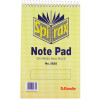 Spirax 563A Notebook Reporter 200x127mm Ruled 200 Page Top Opening