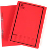 Avery Spiral Action File Foolscap Red Printed Black