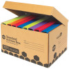 Marbig Archive Box Enviro L420mm x H260mm X W315Mm Attached Lid
