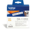 BROTHER LABEL PRINTER LABELS File Folder 17X87mm White Box of 300