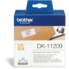 BROTHER LABEL PRINTER LABELS Address Small 29X62mm White Box of 800