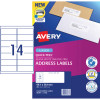 Avery Quick Peel Address Laser Labels L7163 99.1x38.1mm White Pack of 20 (2800)