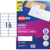 Avery Quick Peel Address Laser Labels L7162 99.1x34mm White Pack of 20 (320)