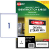 Avery Heavy Duty Laser Labels L70671 99.6x289.1mm White 25 Labels, 25 Sheets