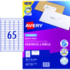 Avery Quick Peel Address Laser Labels L7651 38.1x21.2mm White Pack of 25 (1625)