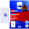 Avery Multi-Purpose Laser & Inkjet Labels L7674 145x17mm White 400 Labels, 25 Sheets