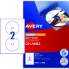 Avery Multi-Purpose Laser & Inkjet Labels L7676 117mm White 50 Labels, 25 Sheets