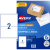 Avery Internet Shipping Laser & Inkjet L7168 199.6x143.5mm White 20 Labels, 10 Sheets