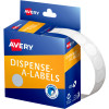 Avery Removable Dispenser Labels 14mm Round White  Pack of 1200