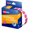 Avery Removable Dispenser Labels 24mm Round Gold  Pack of 250