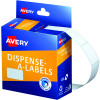 Avery Removable Dispenser Labels 13x24mm Rectangle White Pack of 900