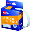 Avery Removable Dispenser Labels 13x36mm Rectangle White Pack of 700