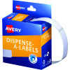 AVERY DMR1349W DISPENSER LABEL Rectangle 13x49mm White Pack of 550