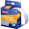 Avery Removable Dispenser Labels 19x36mm Rectangle White Pack of 450