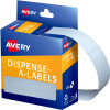Avery Removable Dispenser Labels 19x64mm Rectangle White Pack of 280
