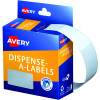 Avery Removable Dispenser Labels 24x38mm Rectangle White Pack of 380