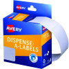 Avery Removable Dispenser Labels 24x49mm Rectangle White Pack of 325
