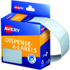 Avery Removable Dispenser Labels 35x49mm Rectangle White Pack of 220