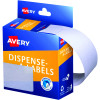 Avery Removable Dispenser Labels 44x63mm Rectangle White Pack of 150