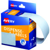 Avery Removable Dispenser Labels 89x43mm Rectangle White Pack of 100