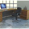Marbig Polycarbonate Hardfloor Small Rectangle 90X120cm Clear