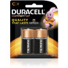 DURACELL COPPERTOP BATTERY C Carded Pack of 2