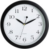 Carven Wall Clock 300mm Black Frame