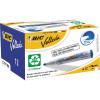BIC WHITEBOARD 1701 ECO MARKER Blue, Bullet Tip Pack of 12