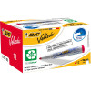 Bic Velleda 1701 Whiteboard Markers Eco Bullet 1.5mm Red Pack of 12