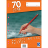 Sovereign A4 Lecture Pad 7mm Ruled 70 Leaf
